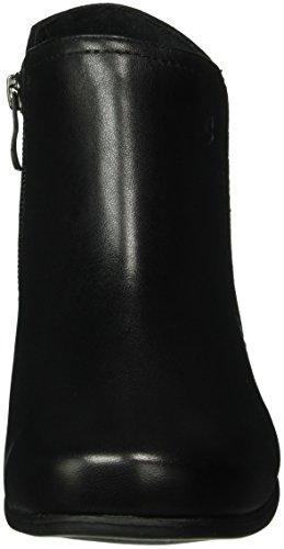 Caprice 25307, Bottes Classiques femme Noir (BLK/BLK SUEDE 3)