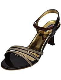 VIREN Women's Artificial Leather Stylish, Party Wear Heels (4-9 UK)
