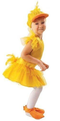Entenkostüm Kind - schickes Enten Kostüm für Mädchen (134/140)
