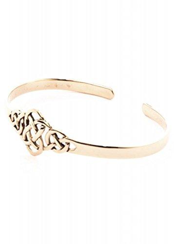 Armreif, keltischer Knoten aus Bronze Armkette Bronzearmband Gothic Halsband LARP Kette Wikinger