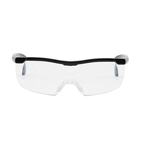 Godagoda Damen Herren Lupenbrille Lesebrillen 1.6 Fach 250 Grad Vergrößerungsbrillen Gläser 16cmx16cm