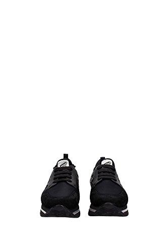 HXW2220V620EOT357R Hogan Sneakers Femme Cuir Noir Noir