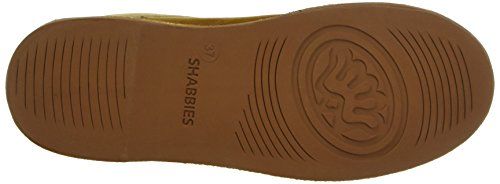 Shabbies Amsterdam Shabbies Ladies Short Boot 16cm With Real Wool Lining Alissa Matching Sole, Bottes Classiques femme Marron - Marron (Caramel)