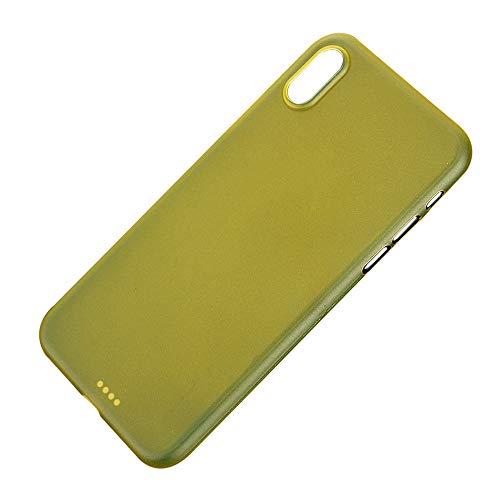 QINPIN Ultradünne PP-Matte Silikonhülle Schutzhülle für iPhone XS Max 6,5 Zoll/XS 5,8inch/XR...