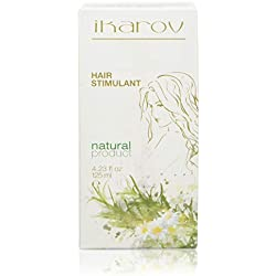 Hair Stimulant for Growth & Strength - With Essential Oils - Bergamont, Ylang Ylang, Lavender - 125ml