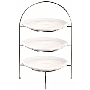 "31l7%2BDEzkYL. SS300  - Olympia Plate Stand Holder Food Display 3 Tier Plates Up To 10 1/2"" 490mm Height"