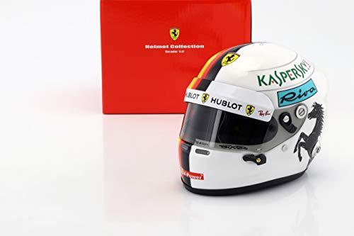 Arai Sebastian Vettel Ferrari SF71H Formel 1 2018 Helm 1:2