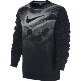 Nike Nike-Felpa Da Uomo, In Cotone 679348 Nera