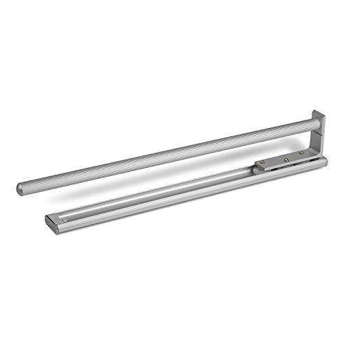 SO-TECH® Toallero (extensible, 1 brazo, aluminio óptico, 440 mm)