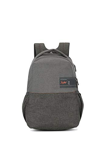 Skybags Beatle Pro 27 Ltrs Grey Laptop Backpack
