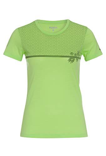 Ladies Merino-Mix T-Shirt hellgrün,46