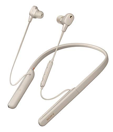 Oferta de Sony WI1000XM2 - Auriculares Inalámbricos Noise Cancelling (Bluetooth, Sonido Adaptativo, Compatible con Alexa, Soporte Cuello de Silicona, 10h Batería, Llamadas Manos Libres), Plata