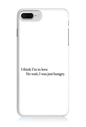 COVER quote Spruch Hungry WEISS Handy Hülle Case 3D-Druck Top-Qualität kratzfest Apple iPhone 6 / 6S