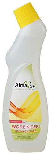 AlmaWin Bio WC Reiniger zitronig frisch 750 ml