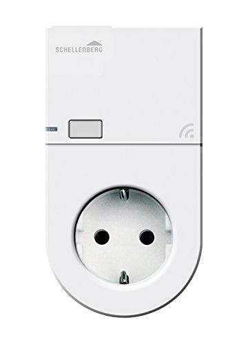 Schellenberg Smart Home Steckdose Funk für innen | steuerbar per Fernbedienung & Zeitschaltuhr | App-steuerbar im Smart Home System | geringer Stand-by-Verbrauch | Ready for Smart Friends