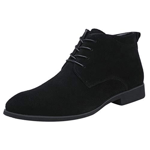 ABsoar Mode Oxfords Schuhe Herren Freizeit Business-Lederschuhe Männer Casual HighTop Boot Plus Velvet Schuhe Flache Schuhe
