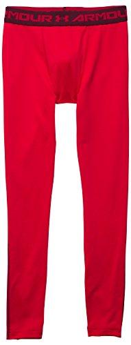 Under Armour - Ua Cg Armour Legging, Pantaloni Sportivi Uomo Rosso (Red/Dpr)