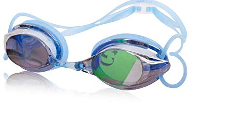 SimmiaHome Lens Mirror Clear Comfortable No Leaking Triathlon Full Free Case Headset Anti-Glare Training Competition Clear VisionWasserdichte Schutzbrille, verzinkt