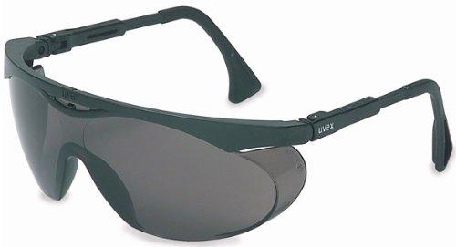 Uvex S1934X Skyper Safety Eyewear, Black Frame, Gray UV Extreme Anti-Fog Lens by Uvex