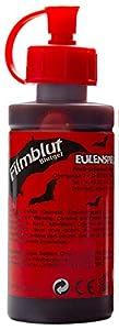 Eulenspiegel Profi-Schminkfarben GmbH Búho Espejo 405611película Sangre/Sangre Gel para Halloween, Oscuro, Vegano, Color Rojo