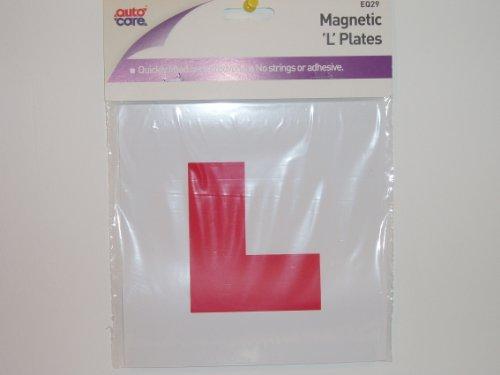 Preisvergleich Produktbild Rot L Learner Teller für Fahrzeuge