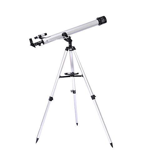 Hochauflösendes High-Definition-Teleskop 135-fache Vergrößerung, Einstiegsteleskop-Studentenspiegel, astronomisches Refraktionsteleskop, geeignet für die Entwicklung von Hobbys für Kinder, Geschenke