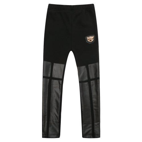 Pantalones Richie Casa de las niñas con cuero de imitación RH1438-B-5/6