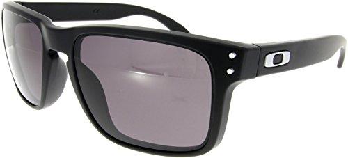 Oakley Holbrook Oo9102 Matte Black / Warm Grey Kunststoffgestell Sonnenbrillen