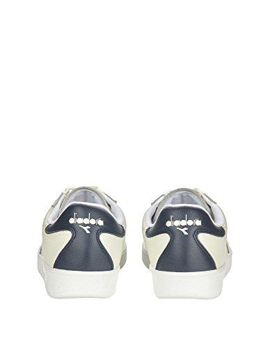Diadora B.Elite Premium L, Sneaker a Collo Basso Uomo Optical White/Black