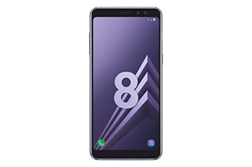 Samsung Galaxy A8 2018 Smartphone Débloqué 4G (Ecran : 5,6 pouces - Nano-SIM - Android 7.1 - 32 Go) Orchidée