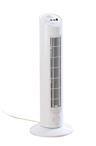 29″ 3 Speed Tower Home Office Oscillating Electric Air Fan Timer Free Standing