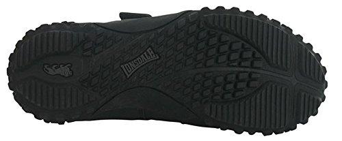 Enfants Garçons Filles élégant Casual Durable Fulham Chaussures Formateurs noir/noir
