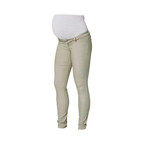 Mamalicious Elly, Jeans-Maternité Femme Vert