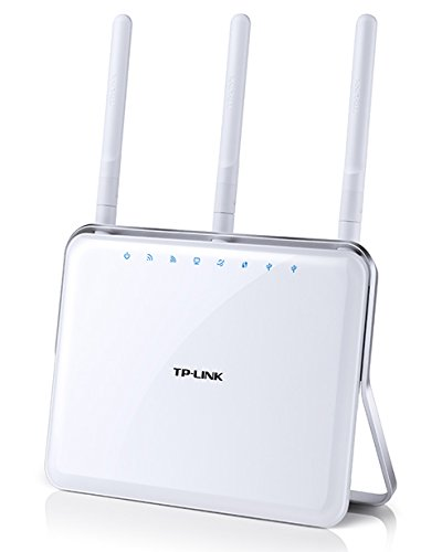 TP-Link AC1900 Archer C9 - Gaming router Gigabit inalámbrico (banda dual 1900 Mbps, MIMO 3T x 3R, USB 3.0, WPS, tres antenas)
