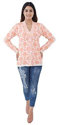Shree Mark Womens/Ladies / Girls Woolen Full Sleeve Winter Wear Buttoned Cardigan and Womens/Ladies / Girls Woolen Full Sleeve Sweater(Type-Women Woollen Cardigan)