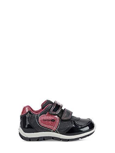 Zapatillas para niña, Color Negro C4268, Marca GEOX, Modelo Zapatillas para Niña GEOX B943YA Negro...