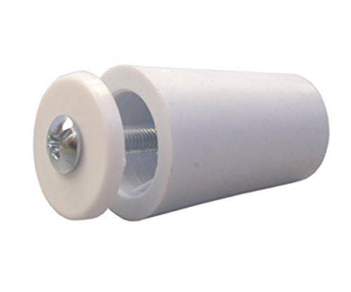 sysfix-2320101-tope-para-persiana-tp-35-en-caja-de-12-unidades-con-tornillo-y-arandela-color-blanco