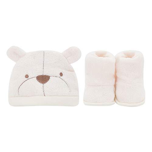 Baby Kinder Winter Mütze, Verdickung Mit Fußabdeckung Neugeborenen Männer Und Frauen Baby Kopfbedeckungen Warme Mütze