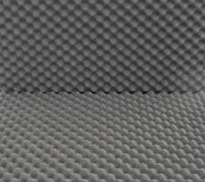 Planchas para protección de material frágil, insonorización, embalaje y acústica cráter pequeño