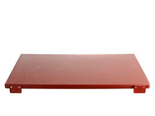 BERTOLI Tagliere plastica marrone con batterie 60x40x2 Accessori da cucina