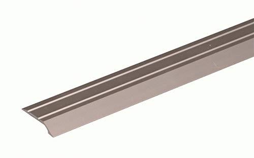 GAH-Alberts 490546 Ausgleichsprofil - selbstklebend, Aluminium, edelstahlfarbig eloxiert, 900 x 30 mm