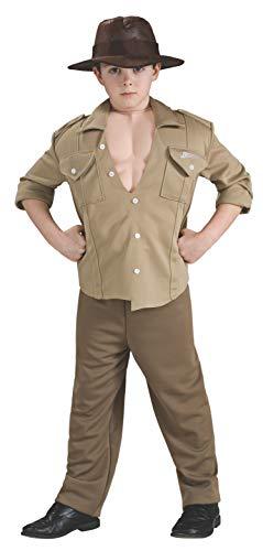Kostüm Jones Deluxe - Indiana Jones Deluxe Kinderkostüm - L-140 cm