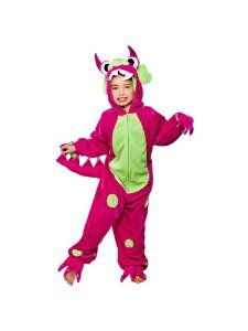 Monster Hot Pink With Green -