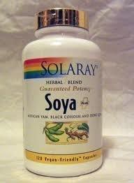 Solaray Soya Plus 120 Capsules - CLF-SR-1151 from Solaray