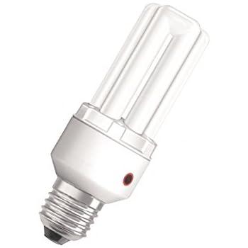 osram dulux el sensor 15 watt e27 energiesparlampe mit lichtsensor beleuchtung. Black Bedroom Furniture Sets. Home Design Ideas