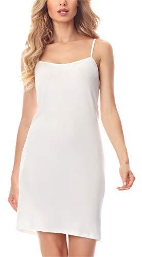 Merry Style Abitino Sottoveste Donna MS10-203 (Ecru, 4XL)