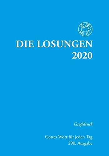 Die Losungen 2020 Deutschland / Die Losungen 2020: Grossdruckausgabe