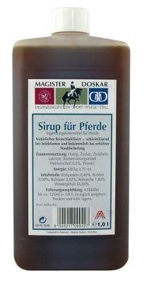 Doskar Sirup für Pferde 1 ltr (Sirup Unterstützung)