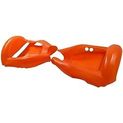 "6.5 ""Cubierta/Funda Protectora De Silicona Hoverboard Segway 2 Ruedas, Cool&Fun Shell Anti-cero A Prueba De Agua Cobertura Completa (Naranja)"