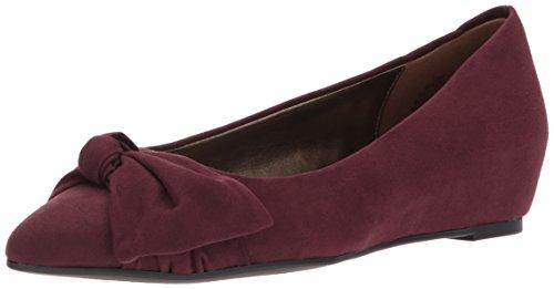 Bandolino Frauen Flache Schuhe Lila Groesse 6.5 US /37.5 EU